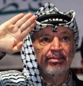 Yasser Arafat in 2000