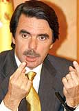 Out: Conservative Jose Maria Aznar