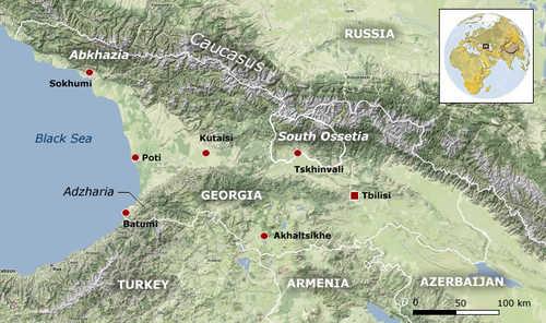 The Caucasus (Spiegel)