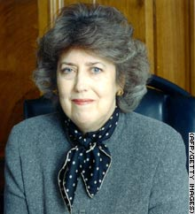 Dame Eliza Manningham-Buller, the MI5 Director-General