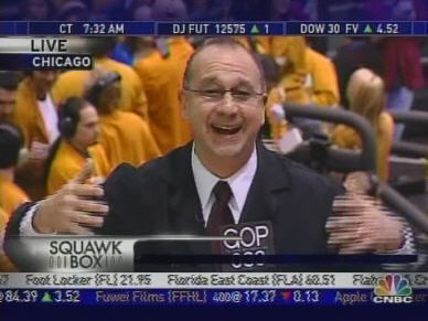 Jack Bouroudijian of Brewer Investment Group gushes over stock market (29-Dec-06) <font face=Arial size=-2>(Source: CNBC)</font>
