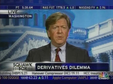 Randall Dodd, director of the Financial Policy Forum <font size=-2>(Source: CNBC)</font>