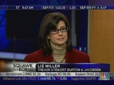 Liz Miller, Trevor Stewart Burton & Jacobsen <font size=-2>(Source: CNBC)</font>