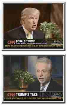 Donald Trump interviewed by CNN's Wolf Blitzer <font size=-2>(Source: CNN)</font>