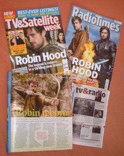 BBC's <i>Robin Hood</i> publicity <font size=-2>(Source: Wikipedia)</font>