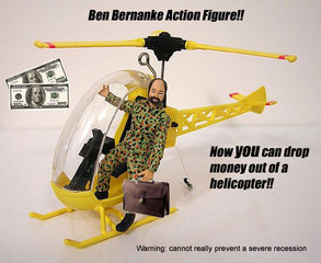"Ben ""helicopter"" Bernanke cartoon"