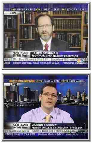 James Grubman (top) and Darrin Farrow <font face=Arial size=-2>(Source: CNBC)</font>