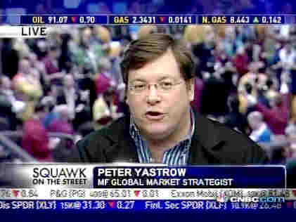 Peter Yastro, market strategist at MF Global <font face=Arial size=-2>(Source: CNBC)</font>