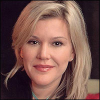 Beauty and brains -- Meredith Whitney, director of equity research at Oppenheimer <font face=Arial size=-2>(Source: Telegraph)</font>