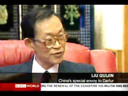 Liu Guijin, China's special envoy to Darfur <font face=Arial size=-2>(Source: BBC)</font>