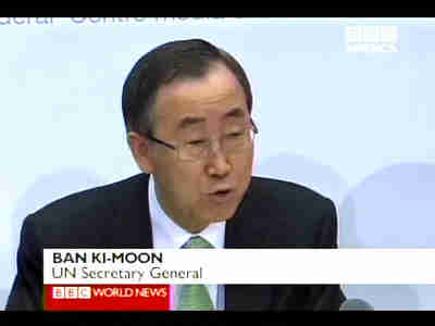 Ban Ki-Moon, UN Secretary General <font size=-2>(Source: BBC)</font>