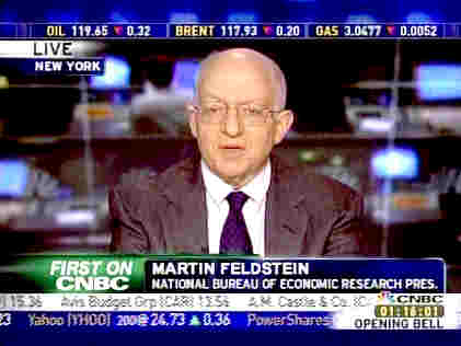 Martin Feldstein, president of the National Bureau of Economic Research <font face=Arial size=-2>(Source: CNBC)</font>