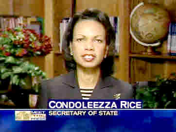 Secretary of State Condoleezza Rice <font face=Arial size=-2>(Source: NBC)</font>
