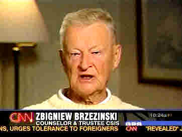 Former National Security Advisor Zbigniew Brzezinski <font face=Arial size=-2>(Source: NBC)</font>