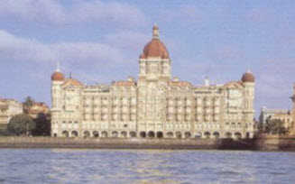 The iconic Taj Mahal Palace Hotel, prior to the terrorist attack