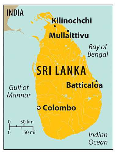 Sri Lanka <font face=Arial size=-2>(Source: csmonitor.com)</font>