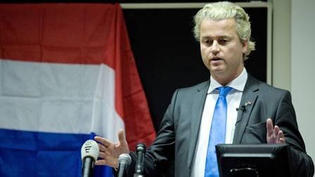 Geert Wilders <font face=Arial size=-2>(Source: NRC Handelsblad)</font>