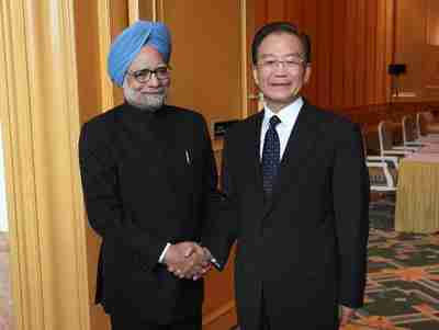 Dr. Manmohan Singh and Wen Jiabao (Xinhua)