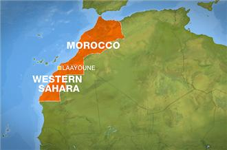 Morocco and Western Africa <font face=Arial size=-2>(Source: Al-Jazeera)</font>