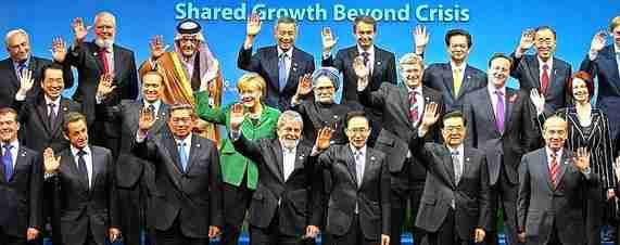 G-20 leaders photo (WSJ)