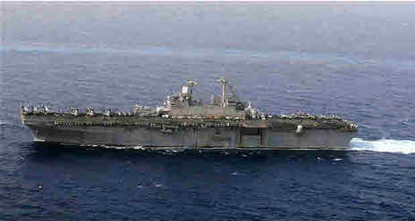 Amphibious assault ship USS Kearsarge