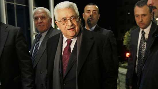 Palestinian president Mahmoud Abbas on Sunday