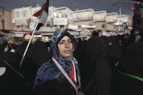 Tawakkol Karman, protest leader in Sanaa, Yemen (New Yorker)