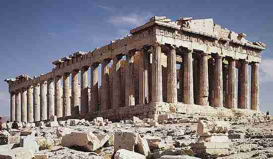 Will Greece have to sell the Parthenon to pay its debts?