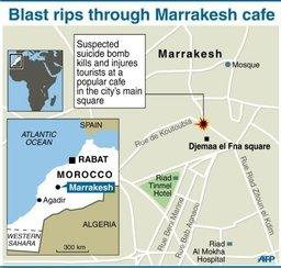Marrakesh, Morocco, bombing