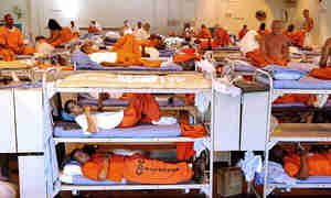 Overcrowding in California's prisons