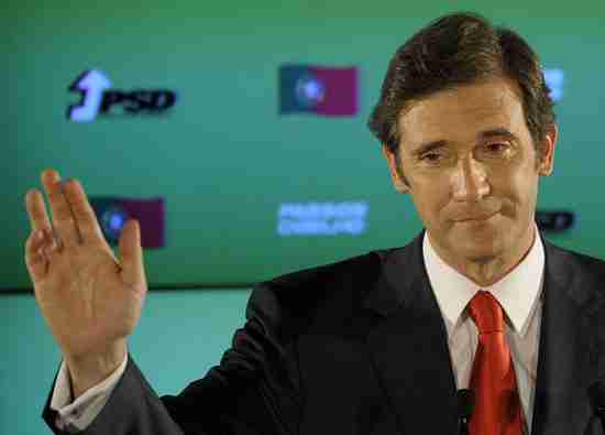 Pedro Passos Coelho, Portugal's new Prime Minister in waiting (AFP)