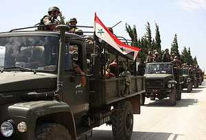 Syrian army approaches Jish al-Shughour (AP)