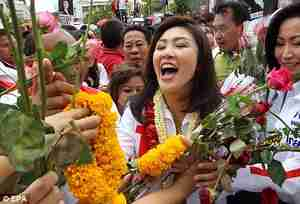 Yingluck plans to use her femininity for national reconciliation