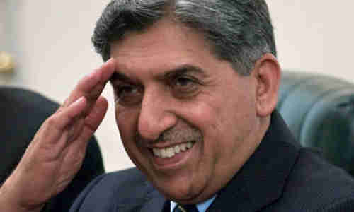 Pakistan's ISI director Ahmad Shuja Pasha (a Doppelgänger of Ray Romano) visiting Washington on Wednesday (AP)