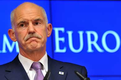 Greek Prime Minister Georgios Papandreou (Kathimerini)
