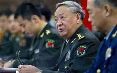 Gen Chen Bingde, China's chief military officer