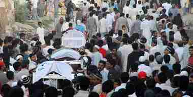 Funeral of three people killed on Thursday (PPI)