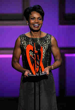 Condoleezza Rice at 2008 Glamour Magazine awards