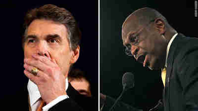 Herman Cain upsets Rick Perry as winner of Florida straw poll (CNN)