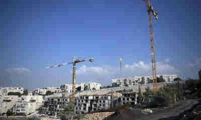 New settlement construction site in Gilo, east Jerusalem (AFP)