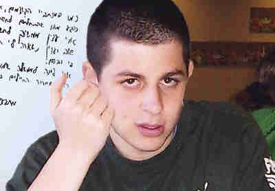 Gilad Shalit in captivity in 2009