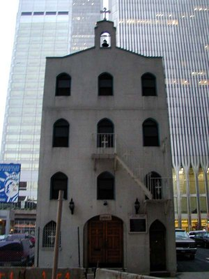 St. Nicholas Greek-Orthodox Church before 9/11
