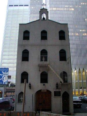 St. Nicholas Greek-Orthodox Church before 9/11