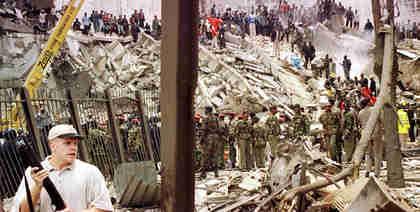 August 7, 1998, terrorist bombing attack on U.S. embassy in Nairobi, Kenya (AFP)