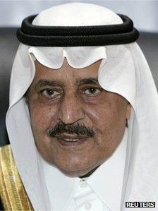 Prince Nayef bin Abdul Aziz al Saud (Reuters)