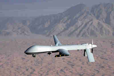 MQ-1 Predator drone (unmanned aircraft) (Reuters)