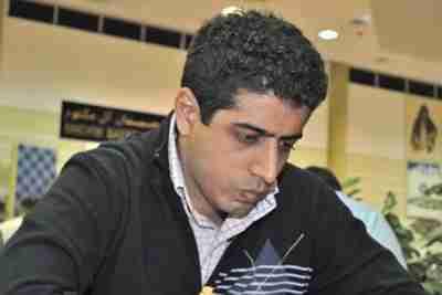 Iran's chess Grandmaster Ehsan Qaem Maqami