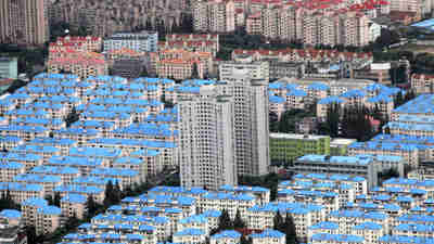 Real estate development, part of China's housing bubble (Reuters)