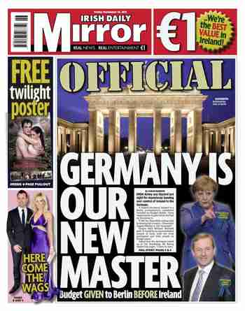 Irish Daily Mirror, November 18, 2011