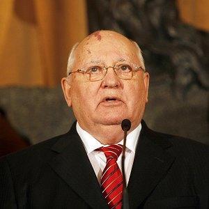 Former Soviet leader Mikhail Gorbachev (AP)
